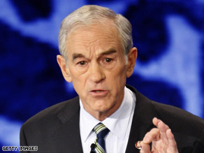 Ron Paul says the nation is off track and Republicans have to rediscover their core beliefs.
