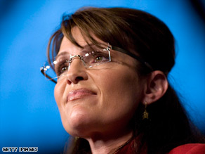 Palin thanked Ted Stevens for his service to Alaska.