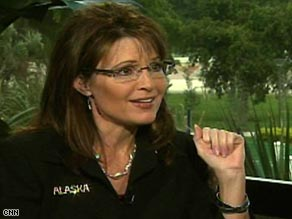 Gov. Sarah Palin says she will support President-elect Barack Obama and his new administration.