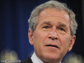 President Bush warned against excessive regulation of the financial system during a speech Thursday.