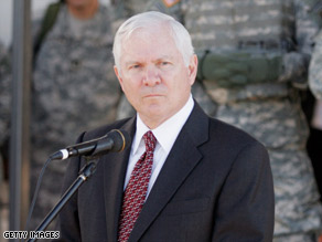 A Pentagon spokesman said Defense Secretary Robert Gates is briefing congressional members on the plan.