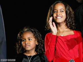 Sasha Obama, left, and Malia Obama will make the White House home come January 20.