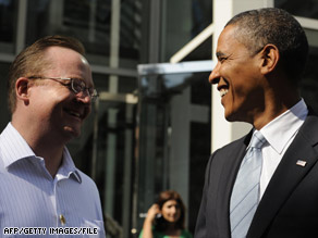 Robert Gibbs will have one of the most highly visible roles in the Obama administration.
