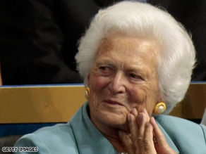 Ex-first lady Barbara Bush has been moved out of ICU and into a regular room.