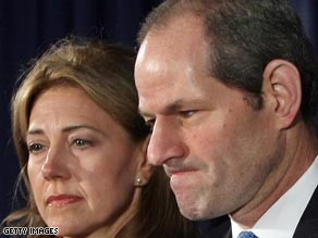 Former New York Gov. Eliot Spitzer made Bill Schneider's annual list of political turkeys for 2008.