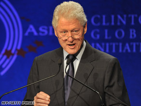 Former president Bill Clinton's spokesman said he will continue to expand the work of his foundation.