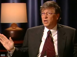 Microsoft founder Bill Gates spoke exclusively Wednesday with CNN's Wolf Blitzer.