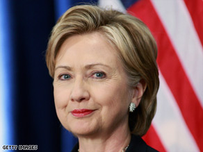 Sen. Hillary Clinton has taken strong positions on Iran, India and the Middle East conflict.
