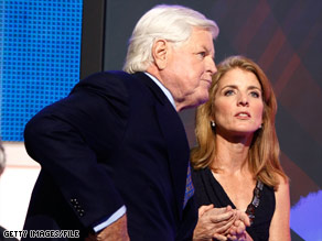Caroline Kennedy could join her uncle Edward in the U.S. Senate. 