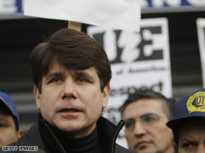 Illinois Gov. Rod Blagojevich, a Democrat, was arrested Tuesday on corruption charges.