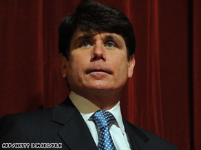 Illinois Gov. Rod Blagojevich, a Democrat, was arrested Tuesday on federal corruption charges.