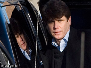 Blagojevich was arrested earlier this week.