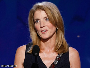 Caroline Kennedy has her eyes on the New York Senate seat.