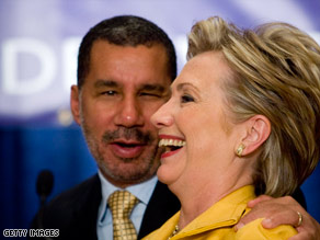 New York Gov. David Paterson must pick someone to fill Hillary Clinton's Senate seat.