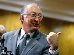Sen. Ken Salazar will be nominated for interior secretary, transition team sources say.
