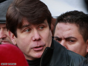 Gov. Rod Blagojevich has ignored calls to resign after being arrested last week on federal corruption charges.