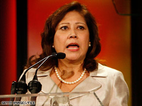 Rep. Hilda Solis is viewed as a strong advocate for working men and women by organized labor.