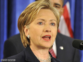 Hillary Clinton says she hopes to have her campaign debt paid before her possible confirmation as secretary of state.