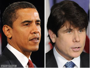 The report says Barack Obama had no contact with Rod Blagojevich or his staff about a Senate seat deal.