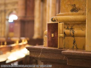 The Lincoln Bible was signed by the clerk of the Supreme Court, attesting the book was used for Lincoln's oath.