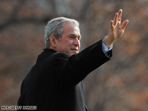 Twenty-eight percent of those polled say President Bush is the worst president in U.S. history.