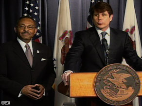 Blagojevich has ignored calls to resign after his arrest on federal corruption charges.