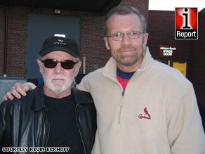 iReporter Kevin Eckhoff met George Carlin at a show in St. Louis, Missouri, in 2004.