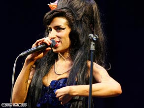 Winehouse's Glastonbury appearance was her first full performance in seven months.