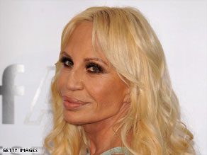 Glamour, femininity and sensuality: The three watchwords of Donatella Versace's fashion empire.