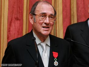 The much-honored Harold Pinter received the French Legion d'honneur in 2007.