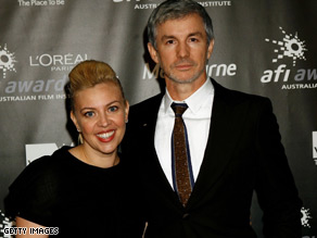 Luhrmann and his costume designer wife Catherine Martin who is a long time collaborator.