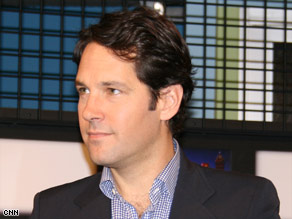 Paul Rudd stars as Danny Donahue in &quot;Role Models,&quot; which he helped write.