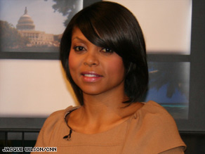"""Taraji Henson received the part of Queenie based on her role in the critically acclaimed """"Hustle and Flow."""""""