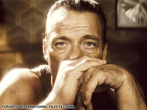 "Blast from the past: Jean-Claude Van Damme plays himself in ""JCVD."""