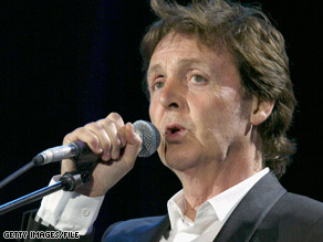 Paul McCartney says he's looking forward to playing a concert in Israel next month.