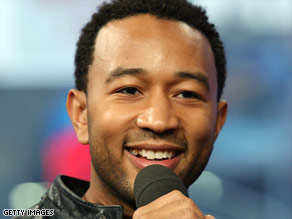 "John Legend focuses on more uptempo R&B on his new album, ""Evolver."""