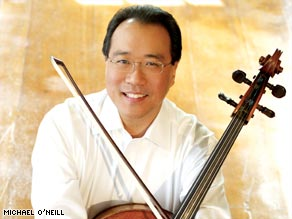 "Yo-Yo Ma's new album, ""Songs of Joy and Peace,"" is his first holiday-themed record."