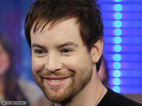 David Cook recently released his debut album, which includes songs about his family.