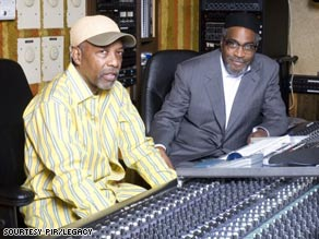 Leon Huff, left, and Kenneth Gamble founded Philadelphia International Records.