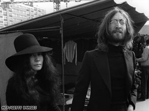 "John Lennon appears with wife Yoko Ono in 1968, two years after he made his ""more popular than Jesus"" comments."