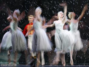 "Dancers perform the ""Nutcracker"" in 2007. Many arts organizations are struggling this Christmas."