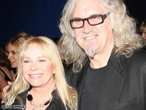 Pamela Stephenson first met Billy Connolly on the set of a comedy show in 1979. They married in Fiji in 1990.