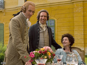 "HBO's ""John Adams"" won 13 Emmys overall. The miniseries received 23 nominations."
