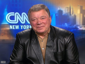 William Shatner has a new talk show and has written an autobiography.