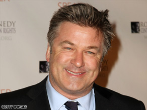 Alec Baldwin received a Golden Globe nomination for his performance on the TV show &quot;30 Rock.&quot;