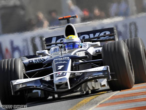 Nico Rosberg is expected to benefit from improvements to Williams' cars this season.