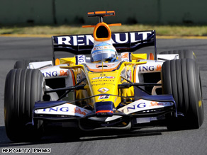 Fernando Alonso has returned to Renault after a tough year at McLaren.