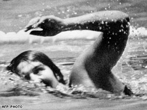 Fraser was the first woman ever to successfully defend an Olympic title.
