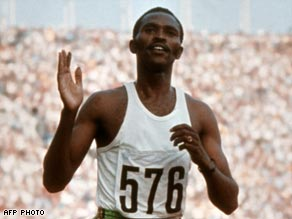 Keino claimed an unexpected victory in the 3,000m steeplechase in Munich in 1972.