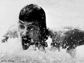 Spitz set seven world records and won a record seven gold medals in 1972.